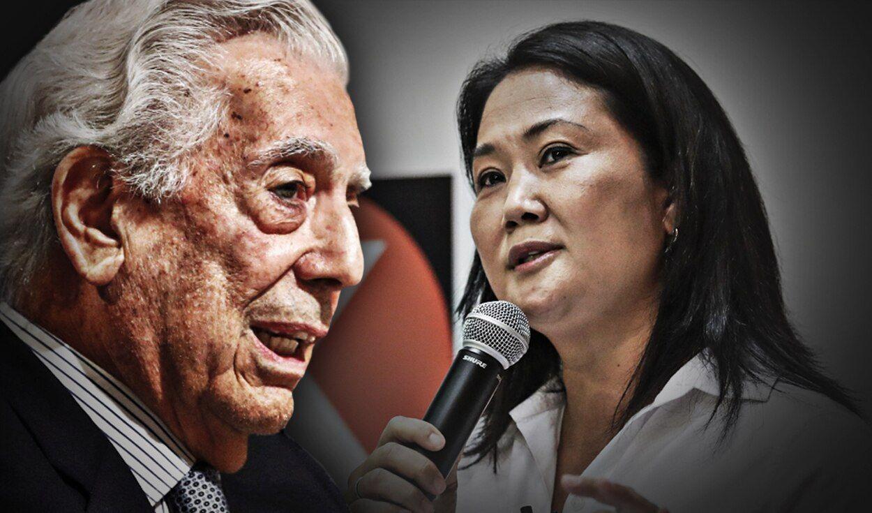 En posible gobierno de Keiko, sería ilegal hablar mal de Mario Vargas Llosa