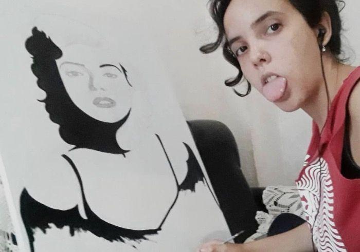 Niños con retardo de aprendizaje aprenden a dibujar en Cuba