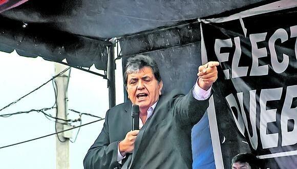 Alan García revive y esta en contra de Pedro Castillo