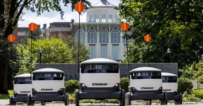 University of Kentucky Starship Robots now Accepting Alcohol Orders