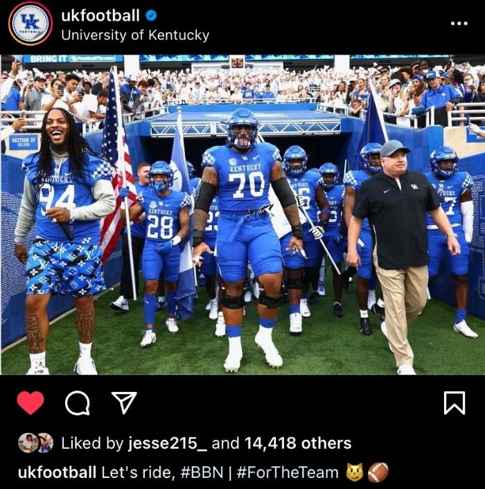 Waka Flocka Plays for University of Kentucky's Football Team?!?!