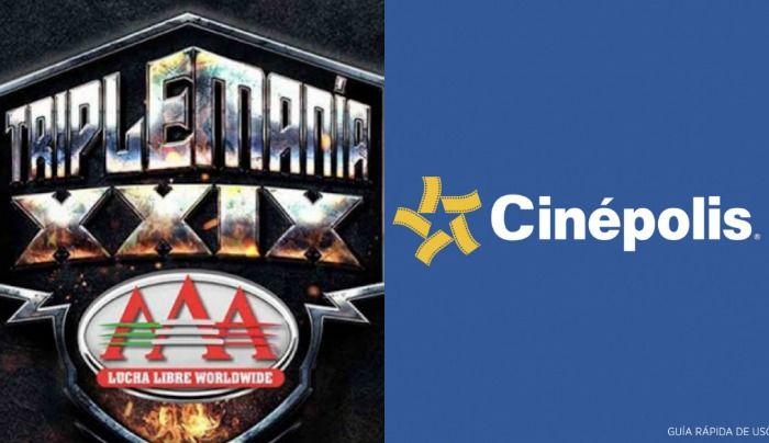 Por primera vez Triplemania sera transmitido en vivo por cinepolis TriplemaniaXXVIV