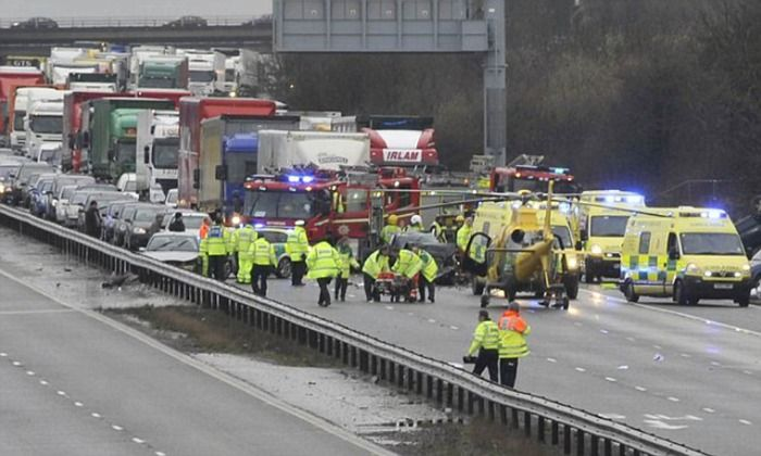 Queen Elizabeth II tragic car crash