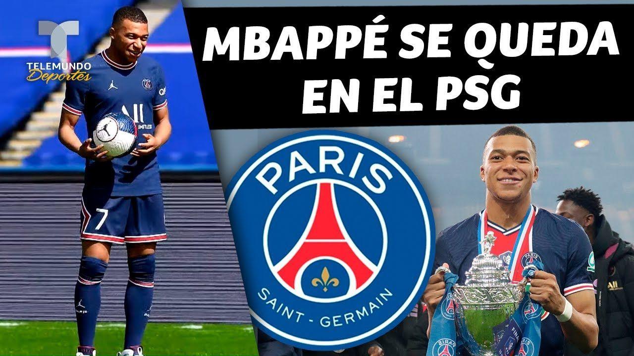 Mbappé se queda en el París Saint-Germain por 5 años más!!!!! 2026