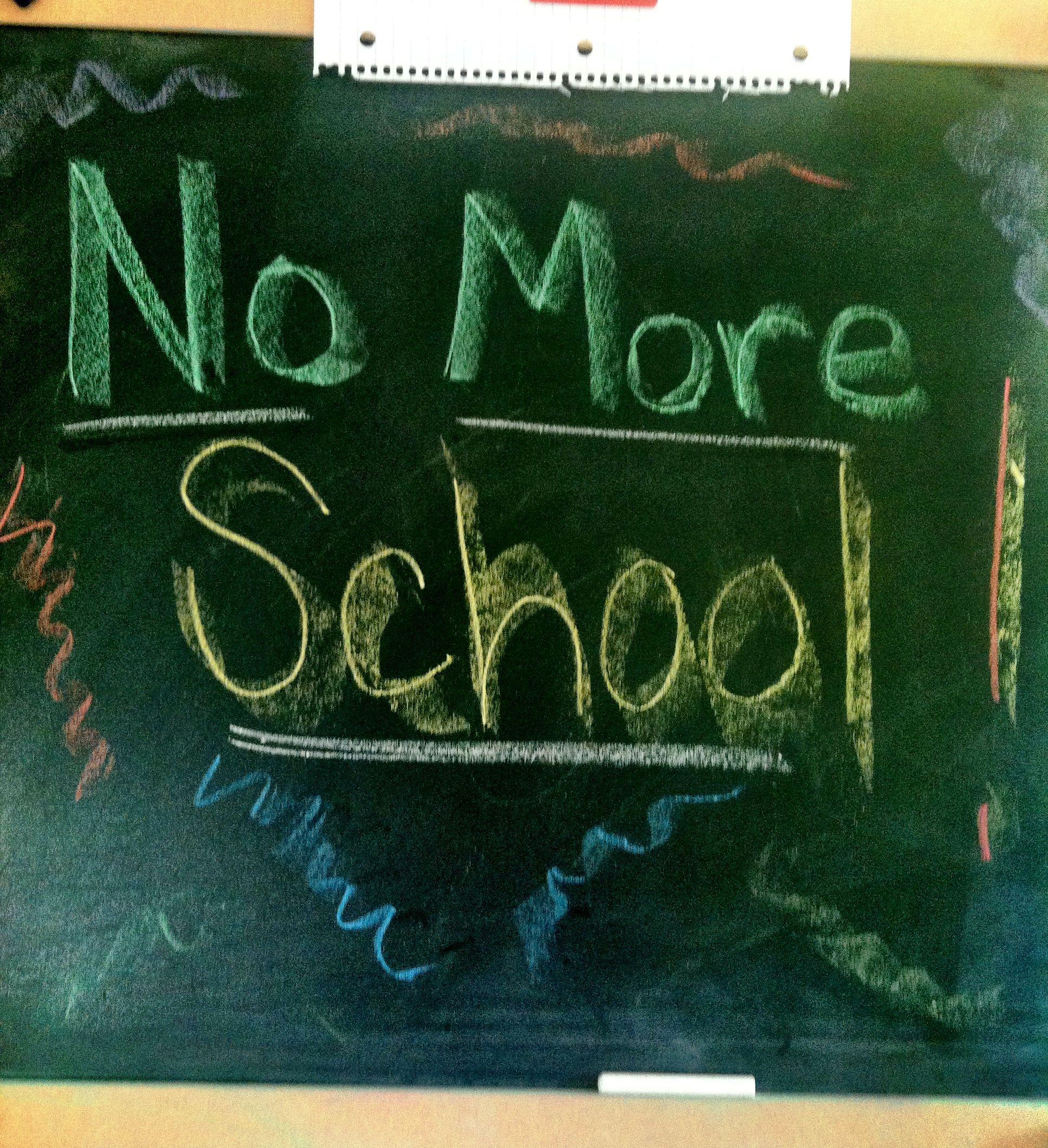 Nie wieder Schule !!