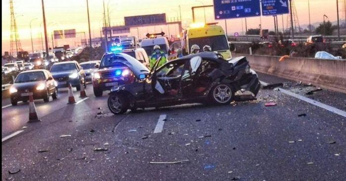 Tom Felton sufre un accidente de coche