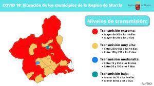 La región de Murcia aislada del resto de la Peninsula con efecto inmediato